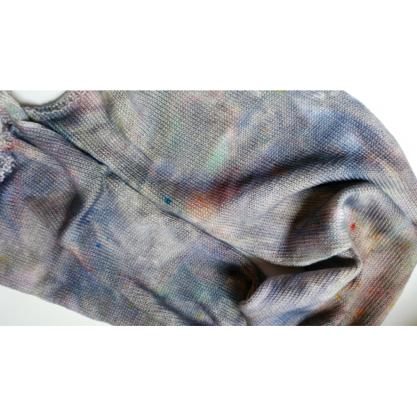 hand-dyed sock blank - 4 oz / 115g - POTTERY