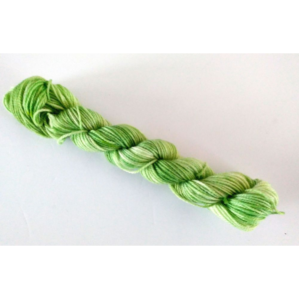 Mini Skein - heels and toes, 25 g / 91 yards - VERDANT