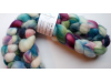hand-dyed merino wool roving 4 oz. - FRILLY