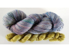 hand-dyed merino + cashmere sock yarn kit INDIGO