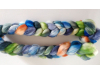 hand-dyed merino spinning roving 4 oz. - LATE SUMMER