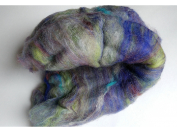 Spinning Batts - Violet Hour Blended 2x 2.1 oz