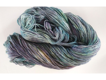 merino + cashmere + silk fingering NORTHERN LIGHTS