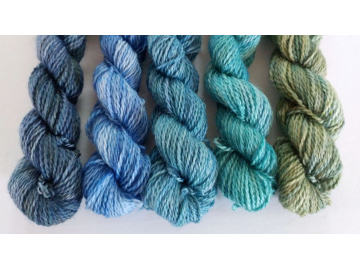 gradient fade yarn set - 5 x 115g 2100+ yards - hand-dyed fingering GABRIOLA