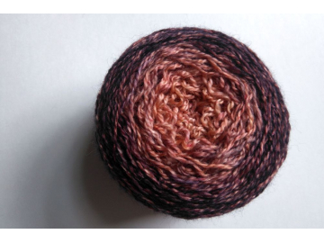 hand-dyed lace weight ombre yarn merino cashmere