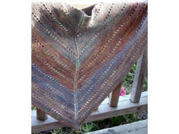 Bethuen Shawl Knitting Pattern PDF