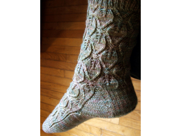 Sleepy Hollow Socks Knitting Pattern PDF