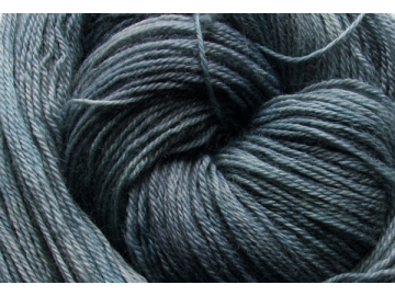 stonewashed BFL hand-dyed wool