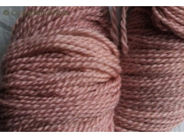 heather BFL hand-dyed wool