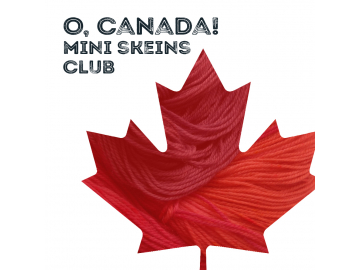 o, canada mini skein yarn club