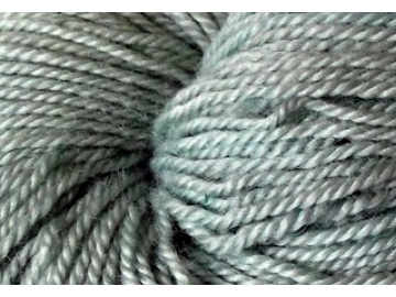 mint BFL hand-dyed wool
