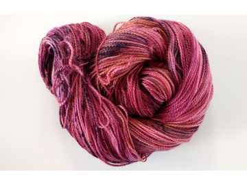 hand-dyed merino sock yarn POP!