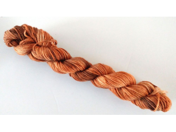 Mini Skein - heels and toes, 25 g / 91 yards - CIDER