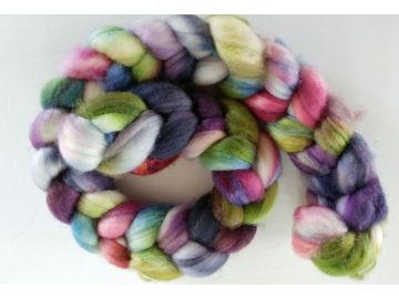 HAND-DYED SPINNING ROVINGS BY OCEANWIND KNITS