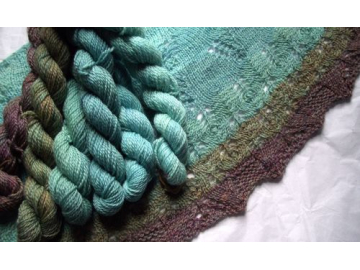 Duskywing Shawl Yarn Packs