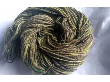 handspun alpaca-merino-silk yarn 4oz / 253 yards