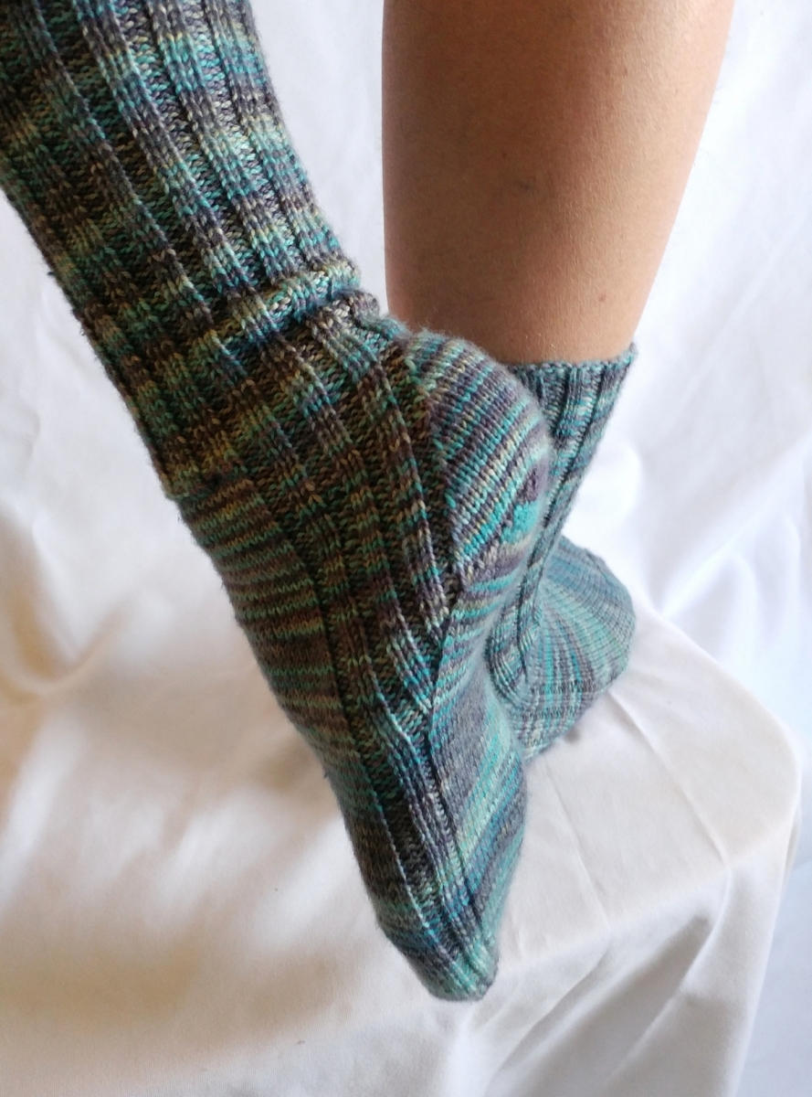 Jangles Socks knitting pattern