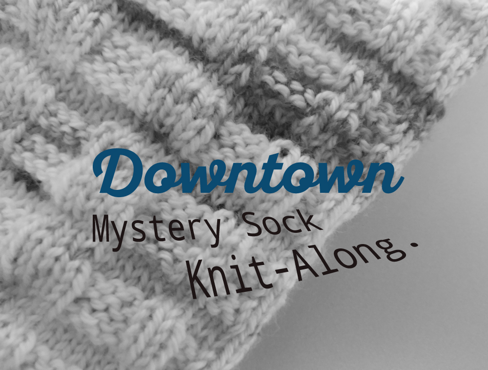 Downtown Socks Mystery KAL