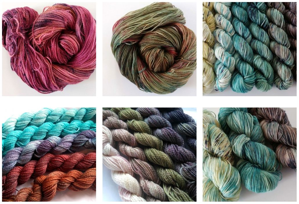 Oceanwind Knits Indie Dyer Yarn Dyed in Canada