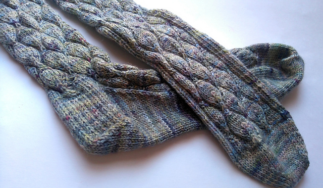 Hinterland Socks knitting pattern